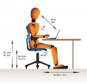 posizione-corretta-scrivania